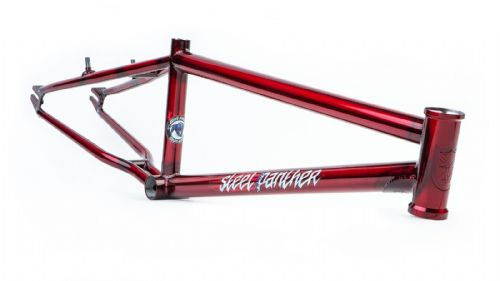 "S&M Steel Panther Frame 21.75"" Candy Red"